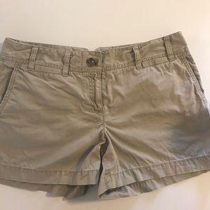 """Loft khaki shorts 4"""""""